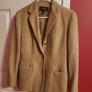 Jackets & Blazers - Camel colored Ralph Lauren blazer